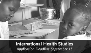 International Health Studies Grant 2017