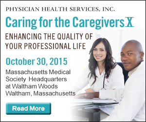 Caring for the Caregivers - October 30, 2015