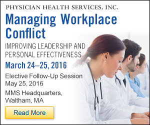 March 24-25, 2016 - Managing Workplace Conflict