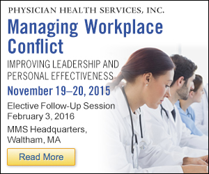 Managing Workplace Conflict November 19, 2015