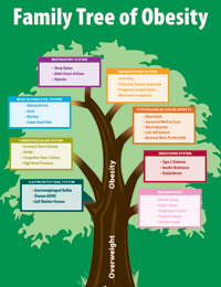 Family Tree of Obesity Poster