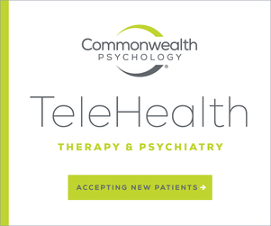 Commonwealth Psychology Telehealth Ad