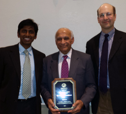 Nasir Khan - 2014 Community Clinician of the Year