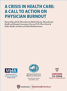 Physician Burnout Report Cover