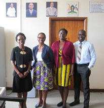 Faculty at the Mbarara University
