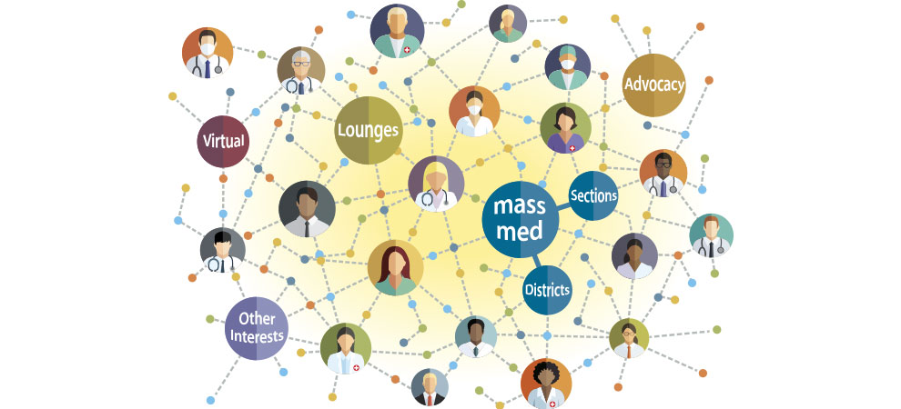 Online Physician Communities Ilustration