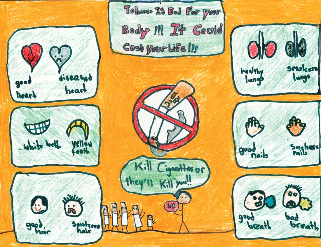 Massachusetts Medical Society: 2016 Anti Tobacco Poster Contest Winners